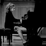 Sophie Mitchell playing the piano